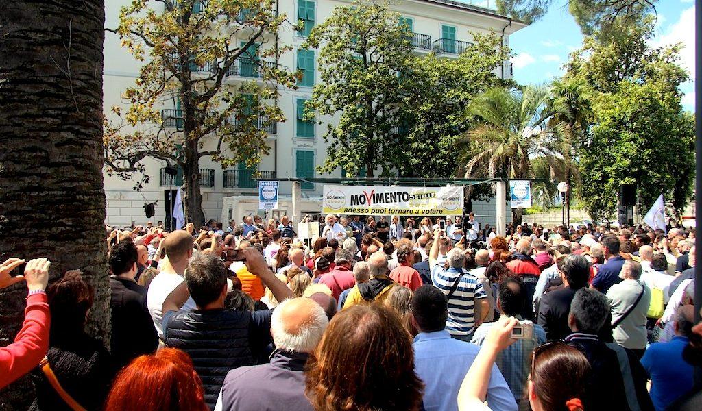 Beppe Grillo a Sestri Levante