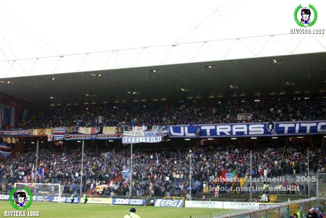 Sampdoria-Reggina 2004/2005