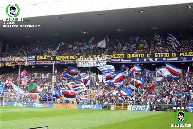 Sampdoria-Reggina 2005/2006