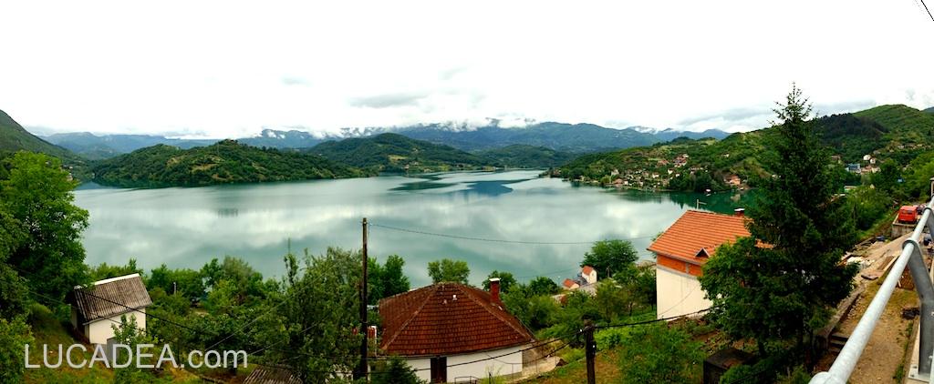 Lago Jablanicko in Bosnia