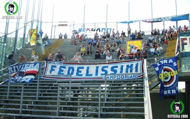 Atalanta-Sampdoria 2006/2007 trofeo Bortolotti