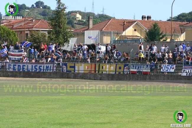 Carrarese-Sampdoria 2006/2007 amichevole