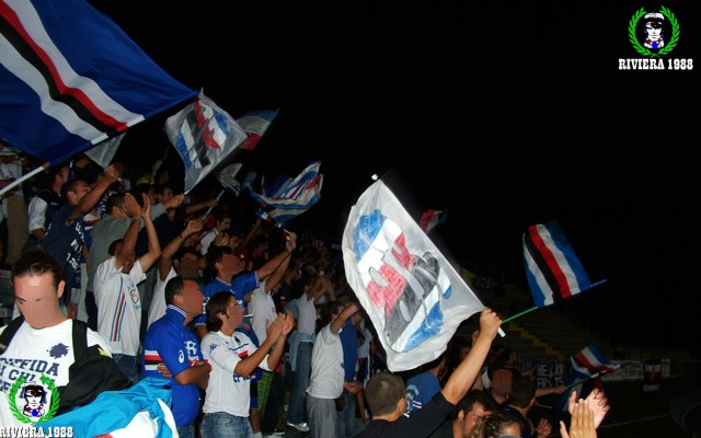 Rimini-Sampdoria 2006/2007 coppa Italia