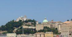 Ancona vista dalla nave