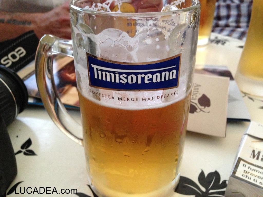 Birra Timisoreana: bionda rumena