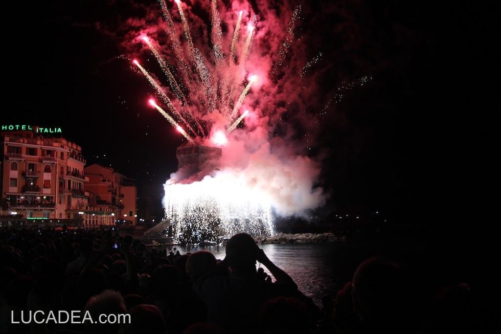 Fuochi patronali di Rapallo, 3 luglio 2013 (foto)