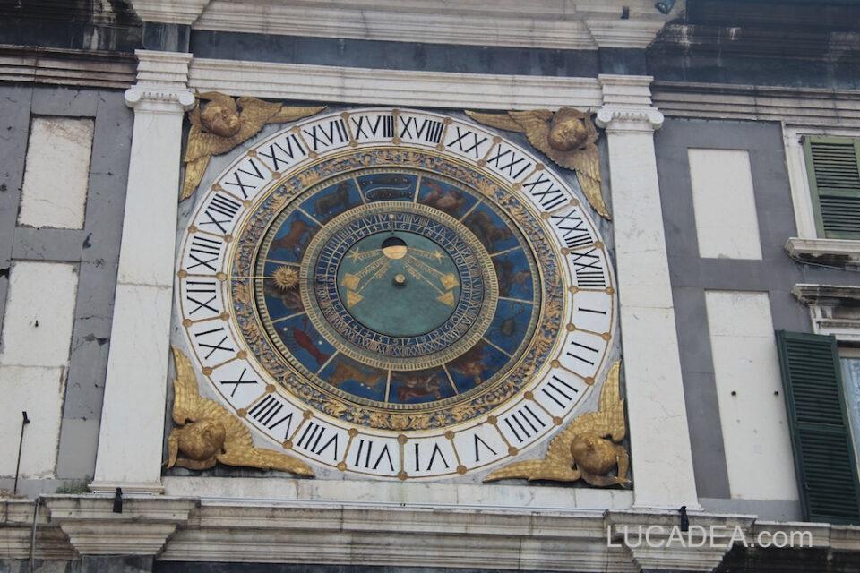 La torre dell'orologio di Brescia