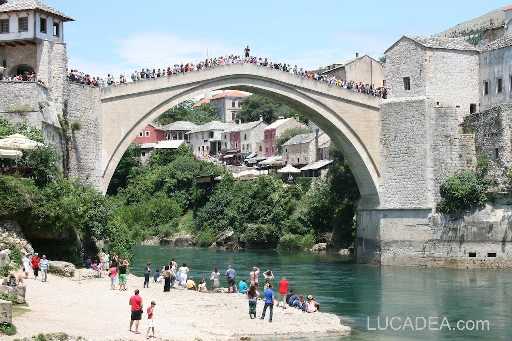 Il ponte di Mostar in Bosnia Erzegovina