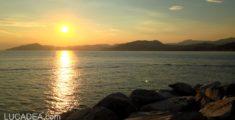 Tramonto sul mare del 7 luglio