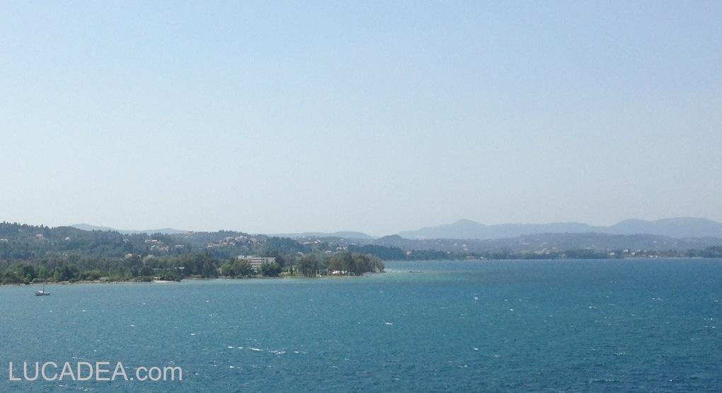 Il mare di Corfù