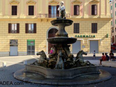 Ancona, la fontana dei cavalli