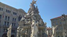 Fontana dei quattro continenti: uno dei simboli di Trieste (foto)