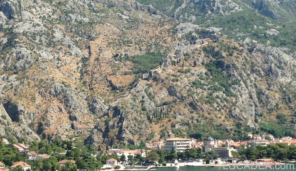 Kotor e il castello