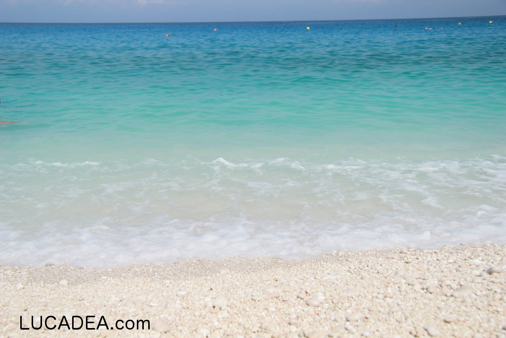 Mare da sogno: Myrtos beach in Grecia