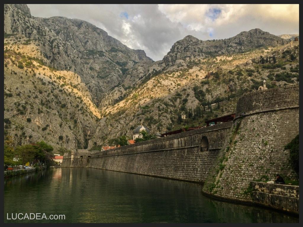 Le mura di Kotor (foto)