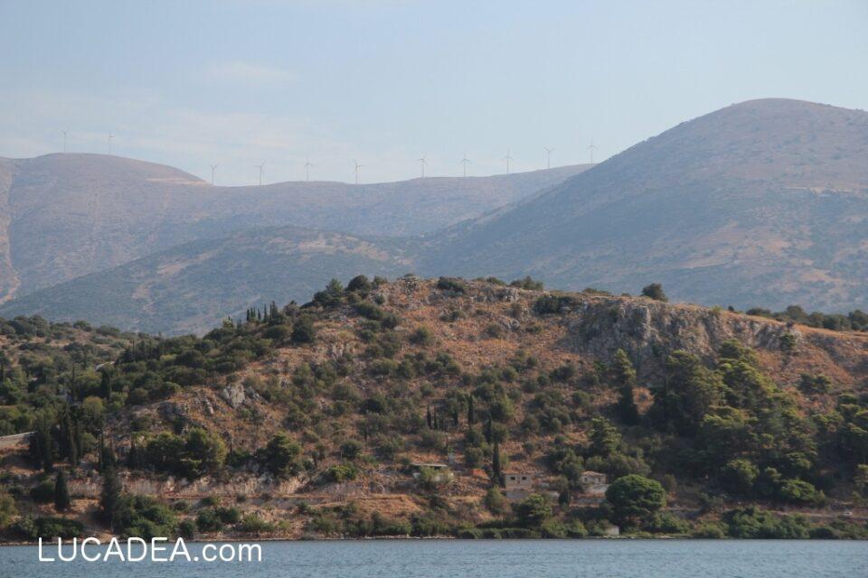 Pale eoliche ad Argostoli