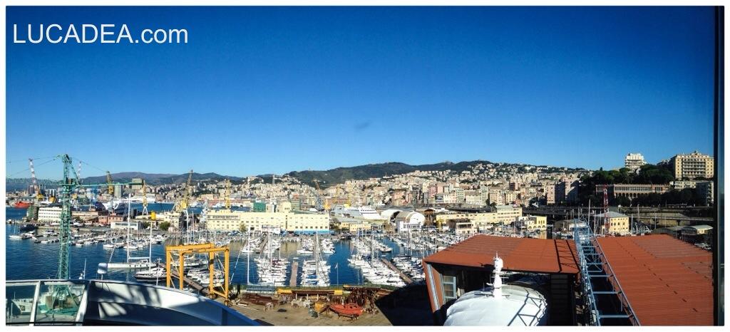 Genova, vista dal porto (foto)