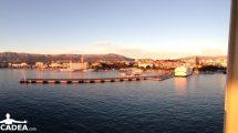 Split al tramonto