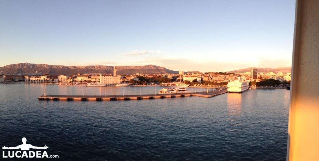Split al tramonto (foto)