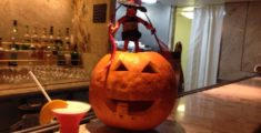 Halloween in nave (foto)