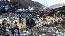 Briançon, panorama dalle mura