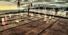 Chiavari: fontana sul lungomare (foto)