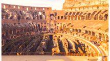 Dentro al Colosseo (foto)