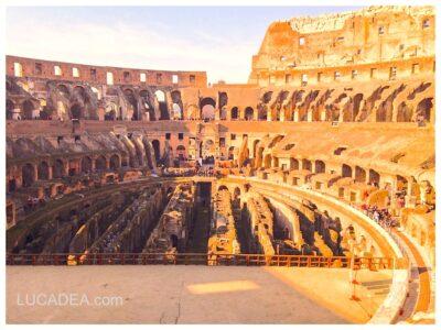 Dentro al Colosseo