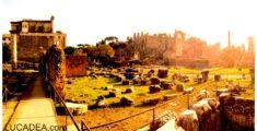 La via Sacra del Foro Romano (foto)