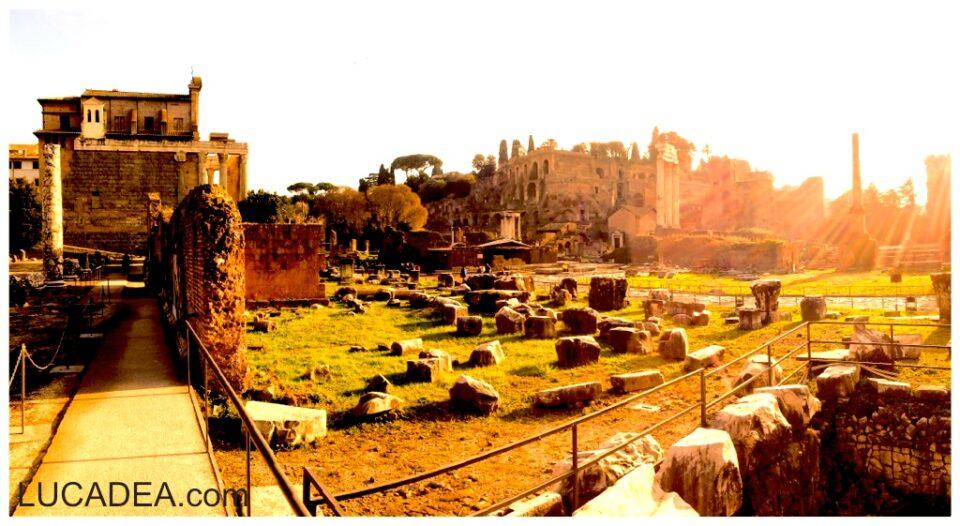 La via Sacra del Foro Romano