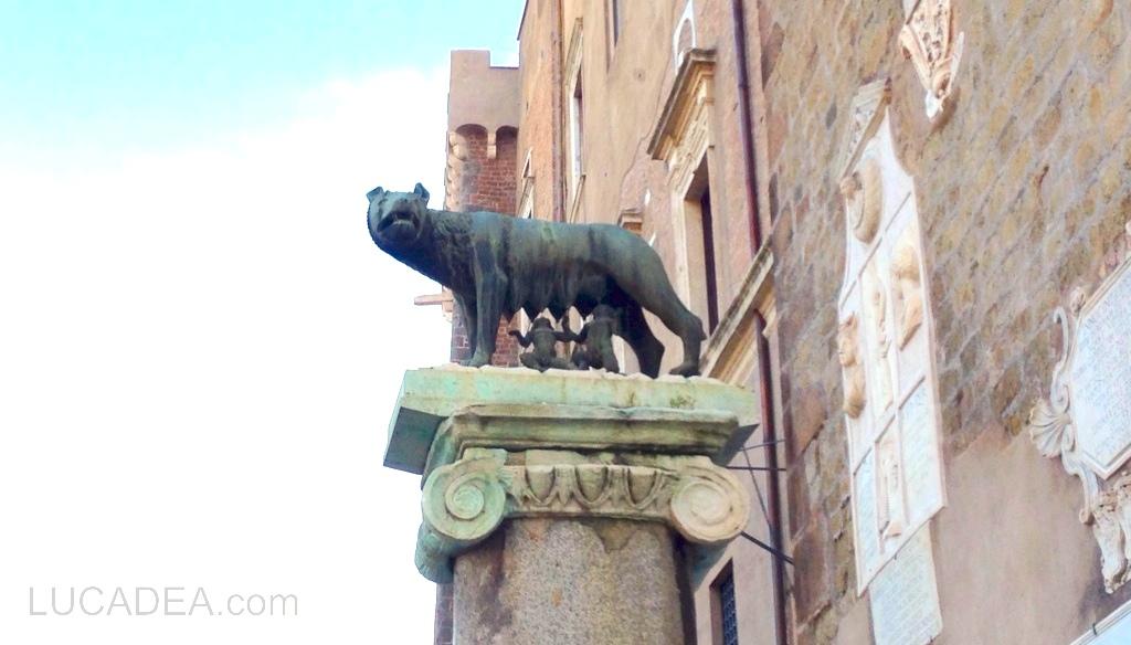 La lupa, il simbolo di Roma