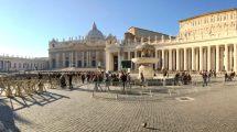 Piazza San Pietro in panoramica
