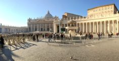 Piazza San Pietro in panoramica