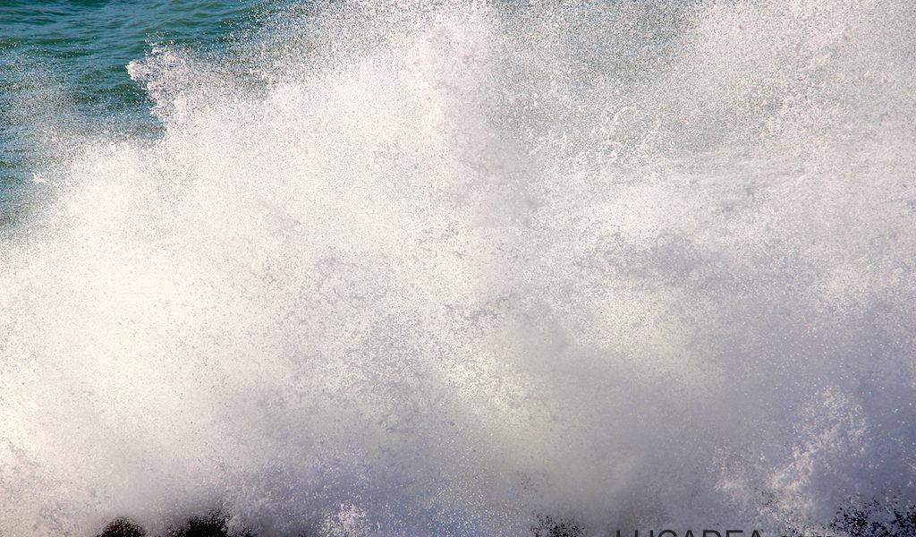 La schiuma delle onde