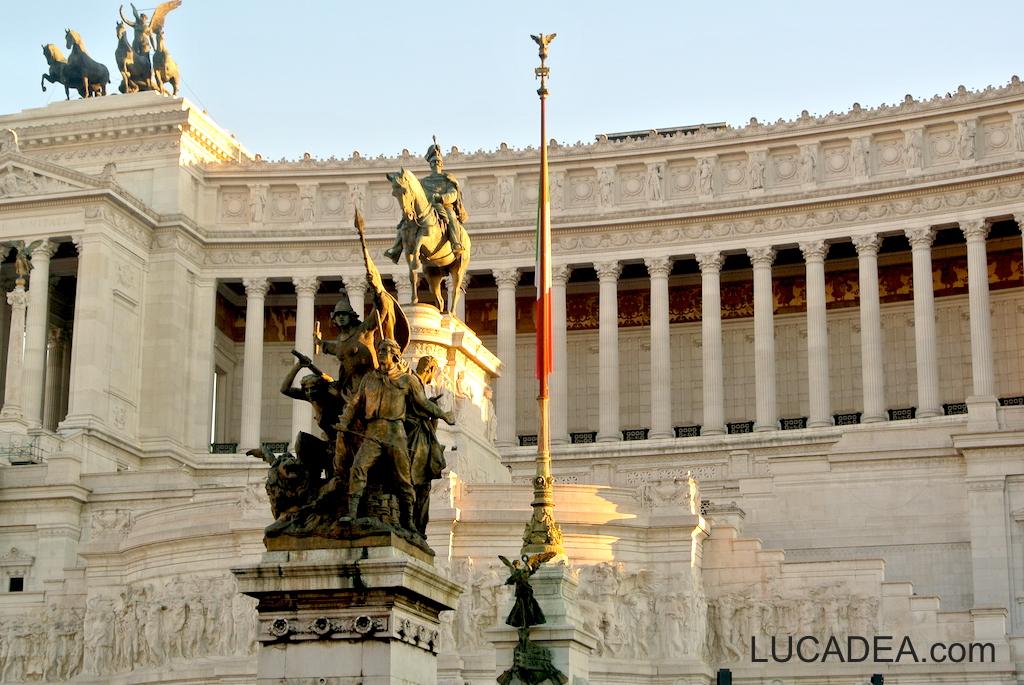 Il Vittoriano a Roma