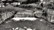 La cascata del Petronio a Riva Trigoso