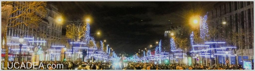 Capodanno sugli Champs Elysees (foto)