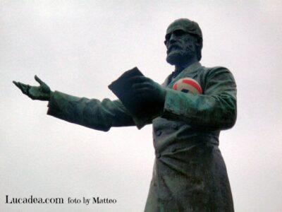 Statua Mazzini Chiavari
