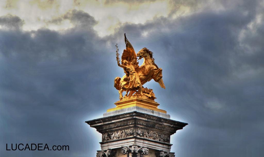 La statua dell'Agricoltura a Parigi