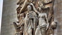 Particolare dell'Arco di Trionfo di Parigi