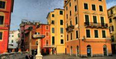 Piazza Matteotti a Sestri Levante (foto)