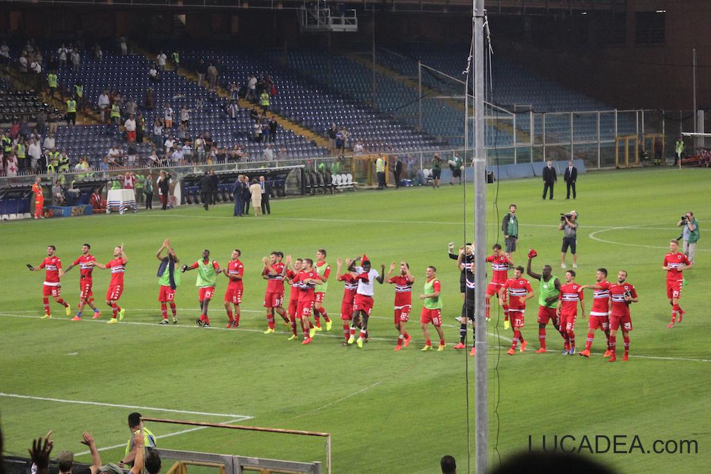 Sampdoria-Eintracht Francoforte 2014/2015