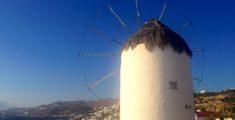 Mykonos windmill山上風車