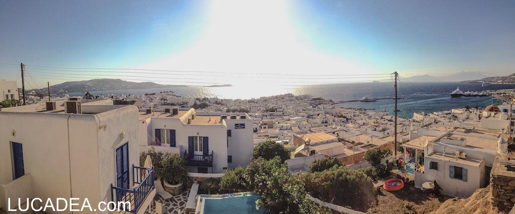 Panoramica di Mykonos