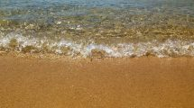 Sabbia dorata a Mykonos