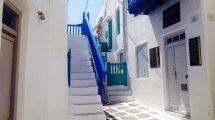 Le strade di Mykonos