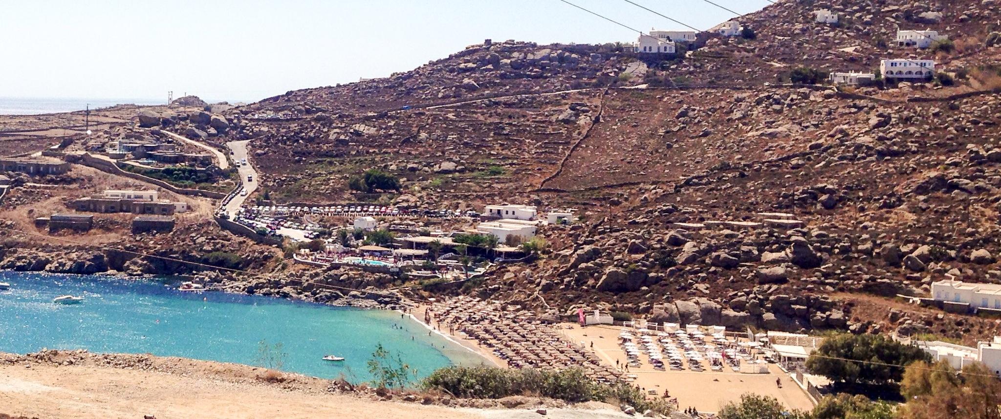 Spiagge da sogno: Super Paradise a Mykonos