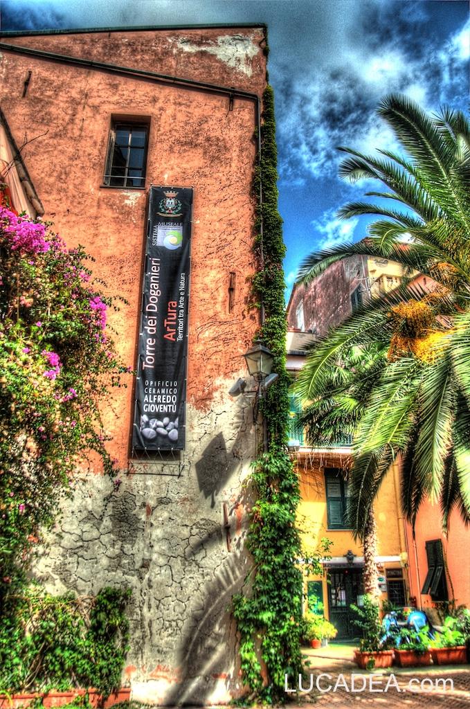 La torre dei Doganieri a Sestri Levante