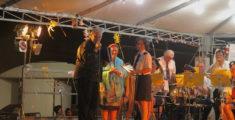 Le bande a Monterosso ieri 6 settembre