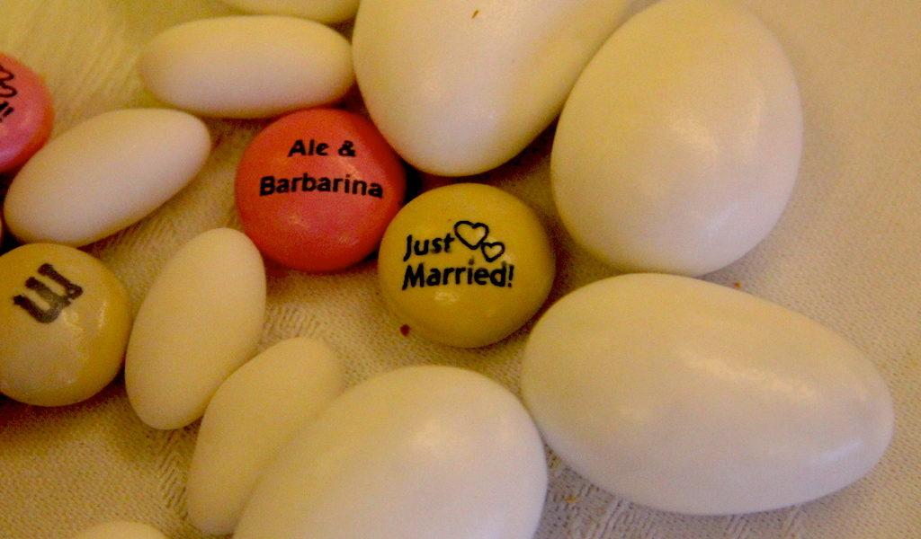 Confetti degli sposi
